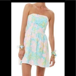 Lilly Pulitzer Lottie Lace strapless dress